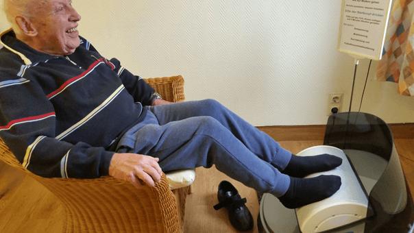 Linderung der Schmerzen in den Füßen verbessern